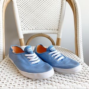 Keds Baby Blue Sneaker Shoes Lace Size 9